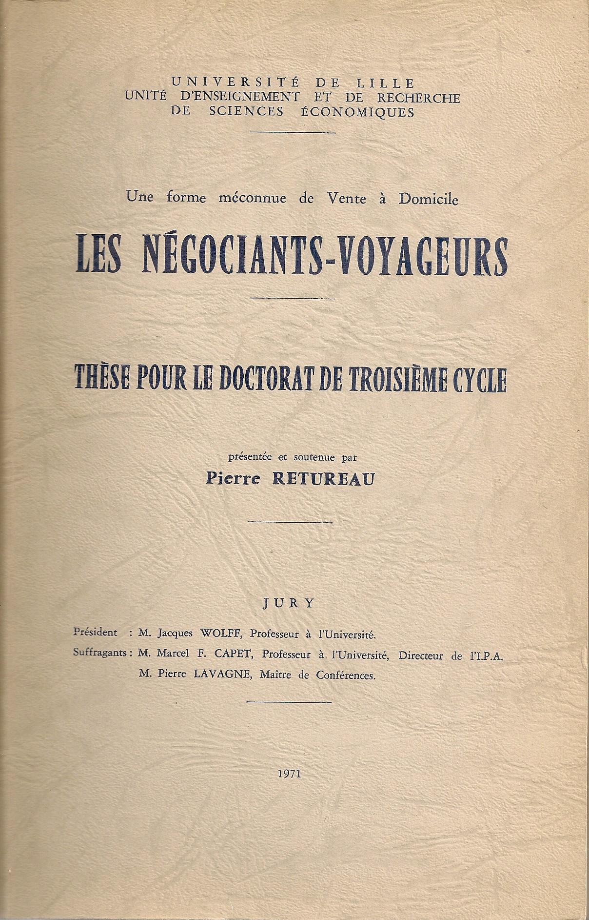 thèse Pierre RETUREAU